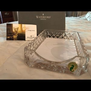 ✅SOLD✅ Waterford Crystal Notepad Holder